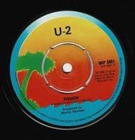 U2 11 O'Clock Tick Tock Vinyl Record 7 Inch Island 1980
